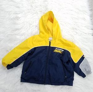 NIKE Color Block Windbreaker Boy's Jacket Size 2T